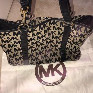 Michael Kors Signature MK Tote Bag